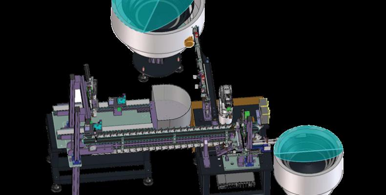 Stazione robotizzata assemblaggio gruppo snodo